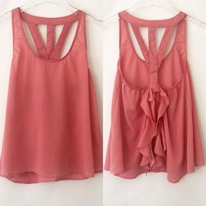Poetry Strappy Ruffled Tank Top